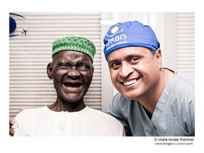 Highly efficient mission cataract surgery